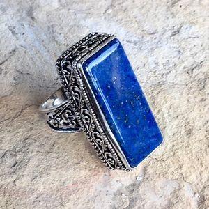 NEW Lapis Lazuli ring size 7.5